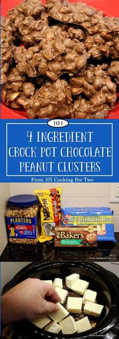 Just 5 minutes, 4 ingredients and 2 hours in the crock pot will get you some of the best candy. via @drdan101cft