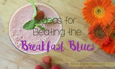 Breakfast is the most important meal of the day. Unfortunately, many of us neglect breakfast. And there's a lot of evidence to suggest that your body and mind will suffer unless you have a healthy breakfast each morning.