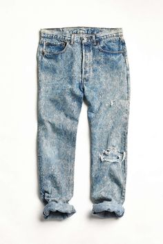 Vintage Acid Wash Levi's 501 Jean