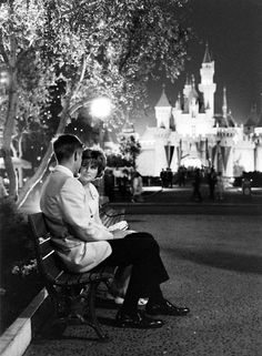1961 Prom Night at Disneyland photo by Ralph Crane via 2 Miss Mouses
