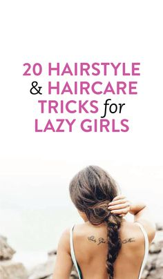 20 easy, quick hairstyle ideas & tricks #Beauty #Hair #Hairstyle #Tips #Tricks #Ideas #List