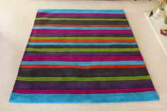 Jazz Stripes Multi Rugs - Buy Stripes Multi Rugs Online from Rugs Direct