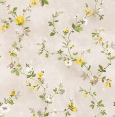 Spring Trail Yellow wallpaper by Albany