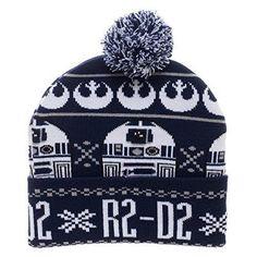 Star Wars R2D2 Laplander Winter Hat