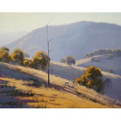 Oil Painting Landscape trees Painting pastoral sheep artwork by G. Landscape Artwork, Contemporary Landscape, Watercolor Landscape, Oil Painting On Canvas, Canvas Art, Australian Painters, Landscape Design Plans, Unique Paintings, Pictures To Paint