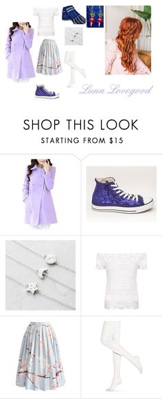 """""""First Meet -Luna/Sherlock-"""" by amber-lee-bambi-bonnar on Polyvore featuring WithChic, Under the Rose, Chicwish and Hue"""