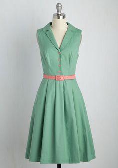 It's an Inspired Taste Dress in Sage
