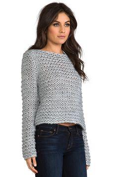 Cheap Monday Cher Sweater в цвете Серый меланж | REVOLVE