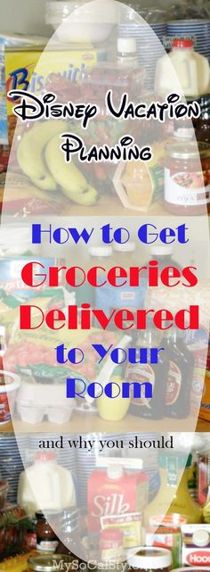 Looking to save money on our next Disney World vacation? Grocery delivery might be for you!! Find out how to get your favorite snacks delivered to your room, and why you should! | #Disny #DisneyWorld #DisneySaving #DisneyTips #Groceries #GardenGrocer