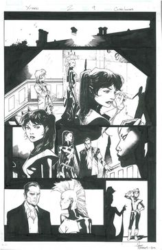 X-Men #2, Page 9 by Olivier Coipel & Mark Morales