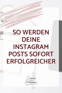 So werden deine Instagram-Posts sofort erfolgreicher Inbound Marketing, Content Marketing Tools, Social Media Marketing Business, Facebook Business, Marketing And Advertising, Internet Marketing, Instagram Hacks, Instagram Insights, Instagram Marketing Tips