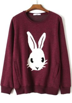 sweet bunny sweatshirt