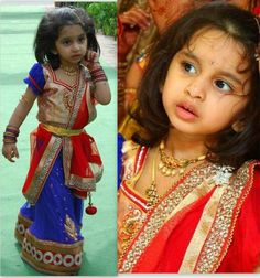 kids half sarees