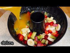 Questo dessert è FAVOLOSO ! basta solo 1 minuto, da fare subito #104 - YouTube Lime Desserts, Greek Desserts, Easy No Bake Desserts, Summer Desserts, Just Desserts, Delicious Desserts, Fruit Salad Recipes, Sweets Recipes, Cooking Recipes