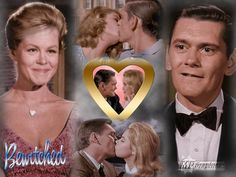 bewitched in the Classic Tv, Classic Beauty, Bewitched Tv Show, 60s Tv Shows, Beautiful Witch, Elizabeth Montgomery, Famous Couples, Iconic Movies, Most Romantic