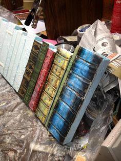 Static: Book Shelf Prop