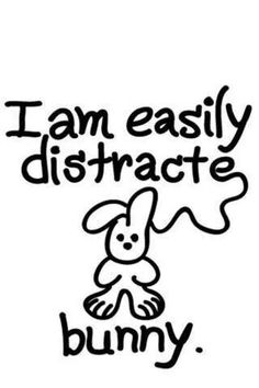 Bunny. This is so me it's not even funny.