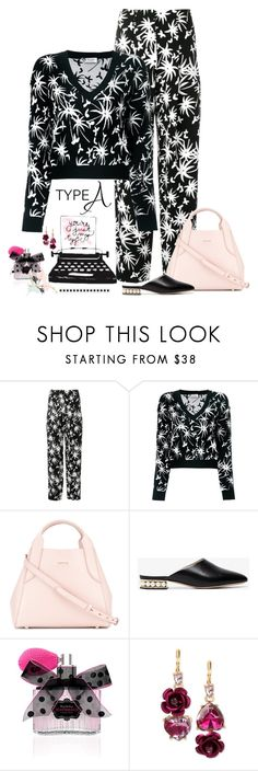 """Just My Type"" by jacque-reid ❤ liked on Polyvore featuring Lanvin, Nicholas Kirkwood, Victoria's Secret and Betsey Johnson"
