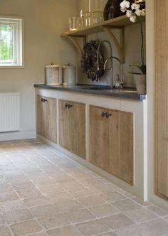 √ Scandinavian Kitchen Design For Your Lovely Home - Boxer JAM Rustic Kitchen, Country Kitchen, Kitchen Decor, Kitchen Walls, Decorating Kitchen, Kitchen Ideas, Concrete Kitchen, Küchen Design, Interior Design Kitchen