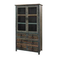 Powell Furniture Calypso 6 Drawer High Cabinet