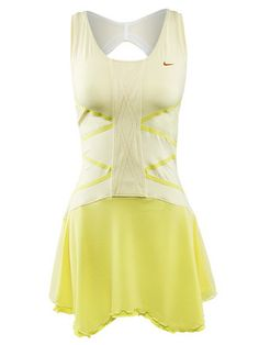 Nike Tennis Dress. Looks super cute but unless you are super tan steer clear. It's got a sheer back that shows everything.