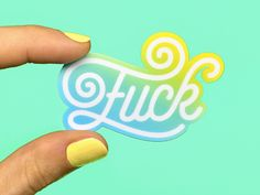Fuck Stickers by Joanna Behar #Design Popular #Dribbble #shots