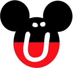 BulutsMom: Mickey Mouse Temalı Doğum Günü Banner Harfleri Minnie Mouse Template, Mickey Mouse Banner, Mickey Mouse Design, Mickey Party, Mickey Mouse Clubhouse, Mickey Mouse Birthday, Letras Do Mickey, Pastel Mickey, Cake Vector
