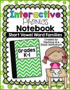 Short Vowel Word Fam