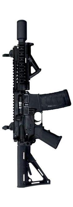 """Cool short barrel. THOR TR-15 """"Talon"""" PDW AR-15"""