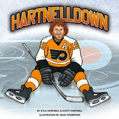 Hartnelldown Children's Book for the young hockey fan in your life! #HockeyHolidays #HartnellDown @Philadelphia Flyers