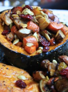 Apple cider-molasses roasted root veggies with some adjustments