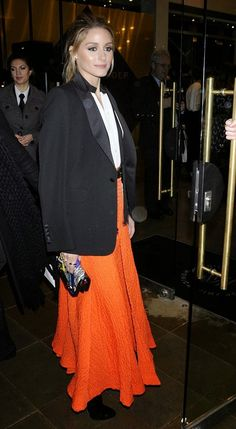 The Olivia Palermo Lookbook : Olivia Palermo At Monica Vinader Flagship Store Opening In London