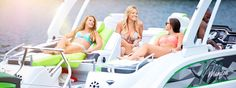 The Manitou Pontoon Boats buying guide lists all of our current models with price, size, and options information.
