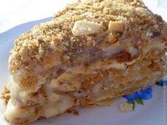 Торт Наполеон с заварным кремом / Рецепты с фото