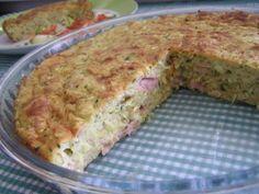 Cuketový slaný koláč (fotorecept) - obrázok 7 Meatloaf, Ham, Banana Bread, Food And Drink, Breakfast, Desserts, Morning Coffee, Deserts, Dessert