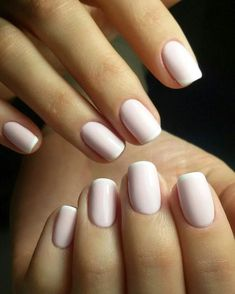 40+ Cute nude nails 2017