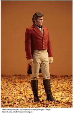 Costume from Eugene Onegin  Pictured: Thomas Hampson.