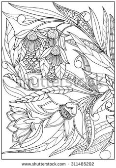 coloring book pages stock photos images pictures shutterstock