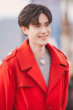 I live for his little dimple Asian Actors, Korean Actors, China Movie, Smile Wallpaper, A Love So Beautiful, Cute Actors, Chinese Boy, Ulzzang Girl, Dimples