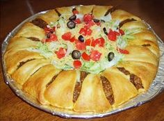 Baked Taco Ring... Happy Hour Appetizers 11 | Hampton Roads Happy Hour