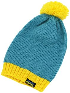 Amazon.com  South Park Cartman Beanie (Blue  Yellow)  Toys   Games 5d842e56cb1