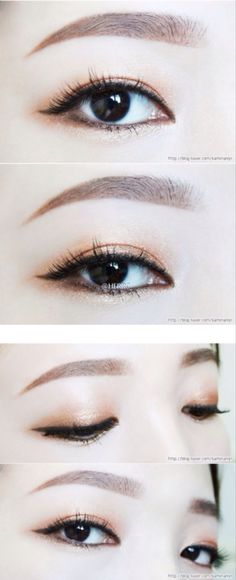 Ulzzang makeup | eye makeup