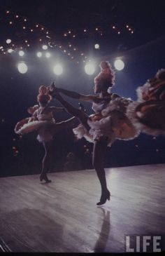 The Can Can Dancers at the Moulin Rouge 1950s – We Heart Vintage ...