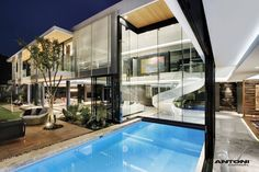 pictures of dream homes | Dream Homes In South Africa: 6th 1448 Houghton by SAOTA, Johannesburg