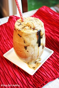 Gingerbread Protein Shake - easy and delicious. 23 grams of protein. Great for post-workout.
