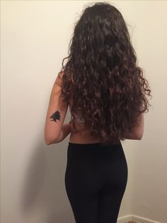 lebanese cedar arabic arab tattoo lebanon curly hair curls