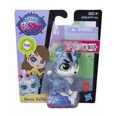 Amazon.com: Littlest Pet Shop Get The Pets Single Pack Moose Hatfield Doll: Toys & Games