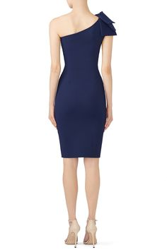 Rent Blue Yashiline Dress by La Petite Robe di Chiara Boni for $105 only at Rent the Runway.