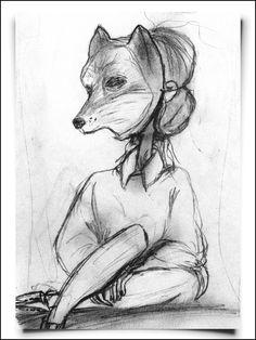 Fox Girl - Fox From Mars