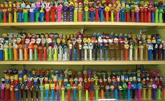 I need shelving like this to display my 500 or more Pez